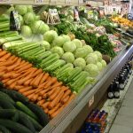 Fresh veggies at the store!