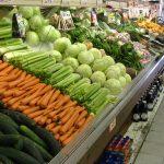 Fresh veggies at the store!